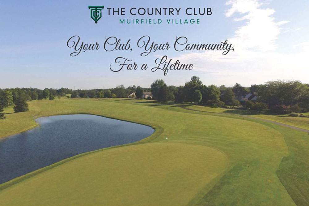 Muirfield Country Club ad
