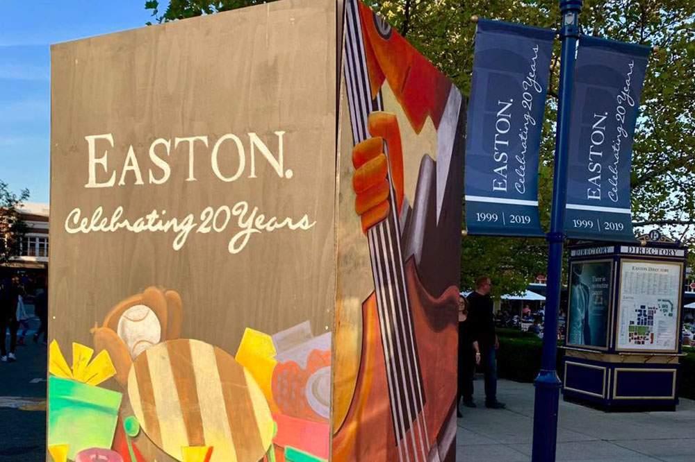 Easton-Sign-Area
