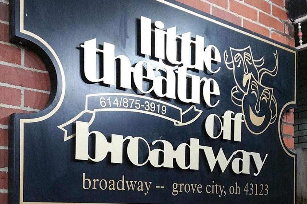 Little Theater Off Broadway Sign